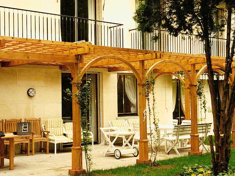 amenagement terrasse 9 paysagiste abattage cl tures. Black Bedroom Furniture Sets. Home Design Ideas